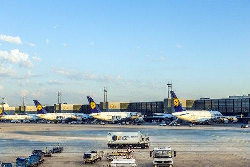 Se repiten los paros parciales en Lufthansa. #shu#