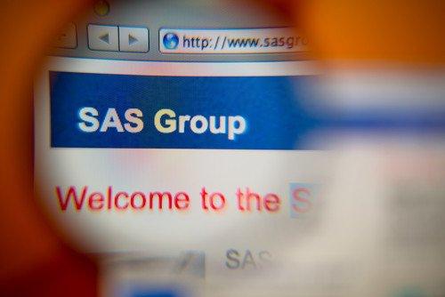 SAS se ha instalado hoy en la nueva terminal 2 del aeropuerto de Heathrow. #shu#