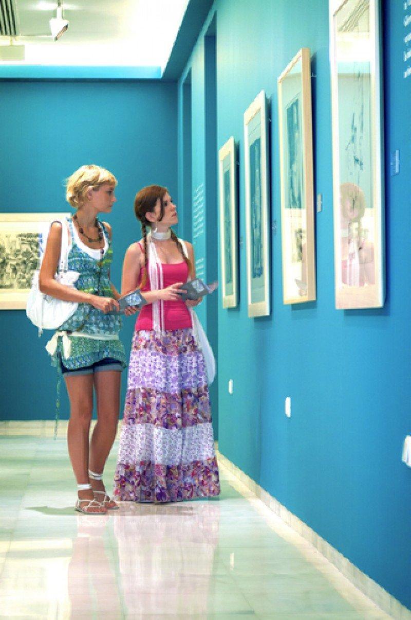Visitantes en el Museo Picasso de Málaga. #shu#