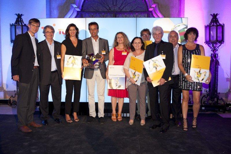 20 hoteles españoles premiados con el TUI Holly