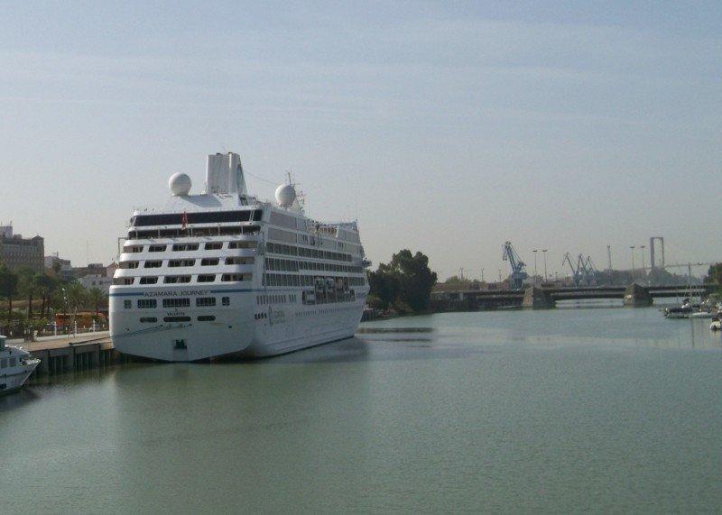 Sevilla alcanzará los 20.000 cruceristas en 2014