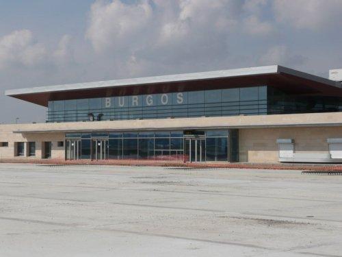 El aeropuerto de Burgos.