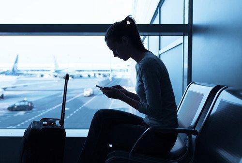 El 96% de los pasajeros desearía tener conexión gratuita en los aérodromos. #shu#