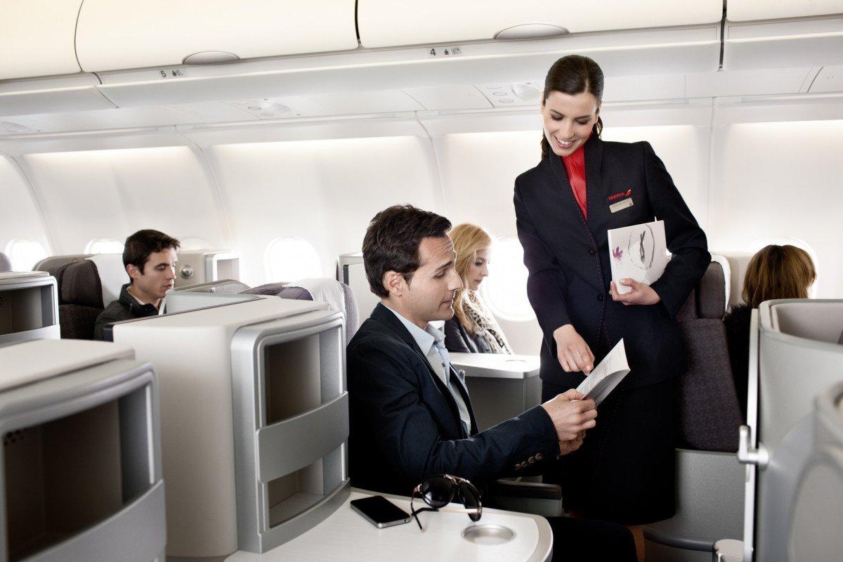 La nueva clase business de Iberia.