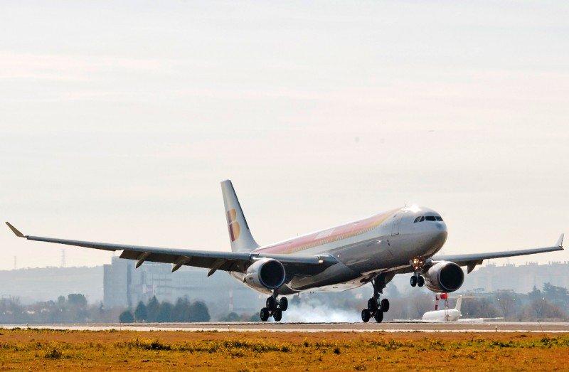 Uno de los nuevos  A330-300 que ya ha incorporado Iberia (fotoarchivo).