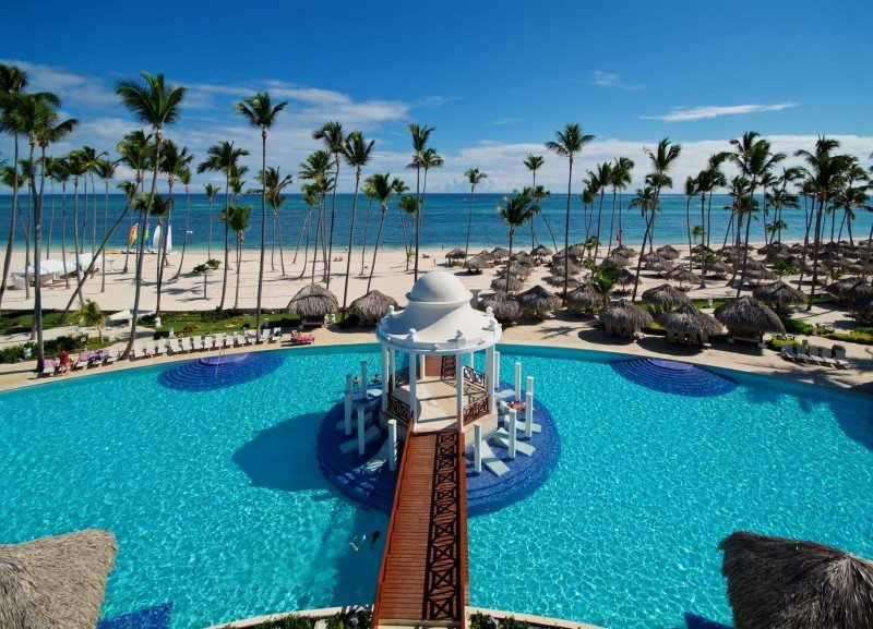 Meliá ocupa el lugar más destacado entre las cadenas españolas. Foto: Paradisus Palma Real, en República Dominicana.