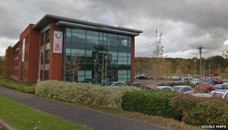 Base de TUI en Coventry.