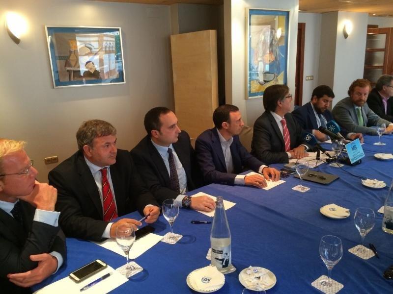 Presidentes de las asociaciones hoteleras andaluzas.