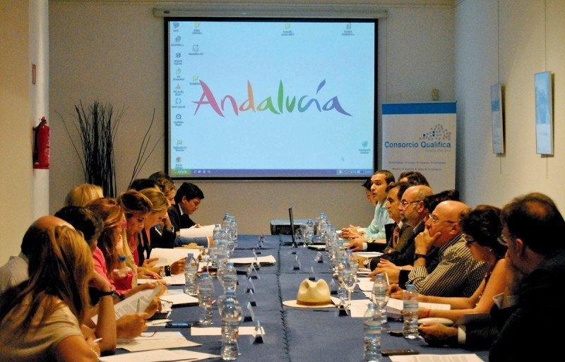 Reunión del Consejo Rector del Consorcio Qualifica de la Costa del Sol Occidental.