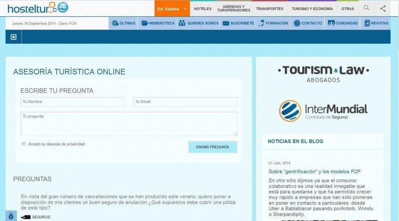 Asesoría jurídica experta en turismo, con Tourism