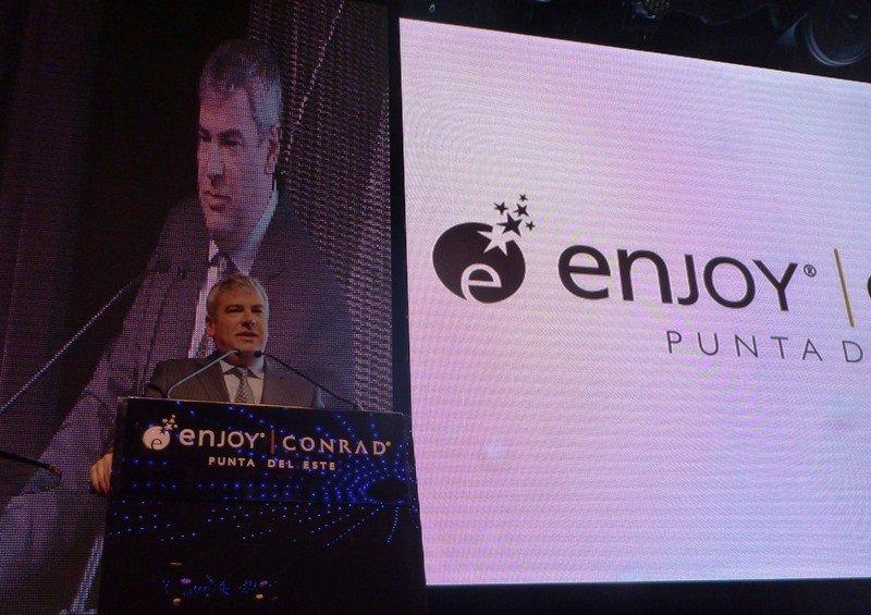 Javier Martínez, vicepresidente ejecutivo de Enjoy.