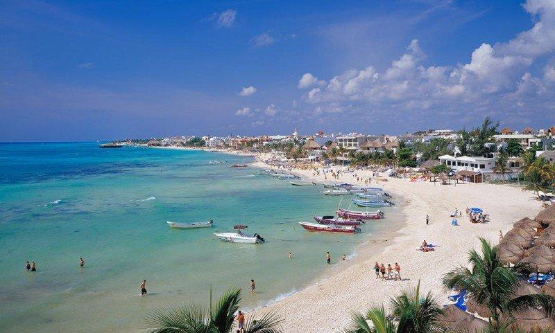 Playa del Carmen es el destino más elegido en el Caribe por los argentinos.