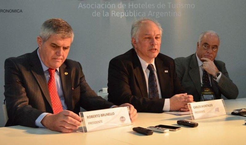 Los presidentes de AHT y FEHGRA dieron una conferencia tras la apertura de HOTELGA.