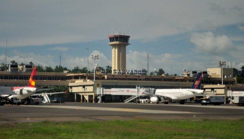 Aeropuerto internacional de El Salvador.