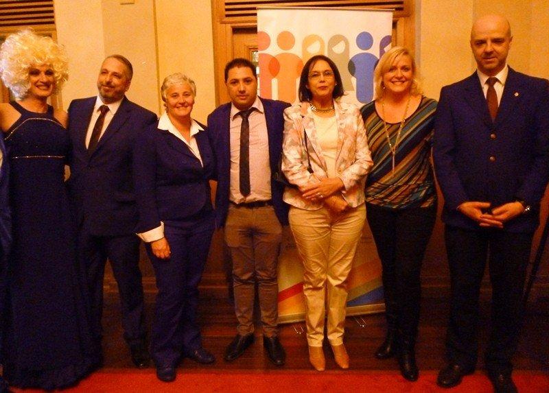 Autoridades y expertos que expondrán en la Cuarta Conferencia de turismo gay friendly en Montevideo.