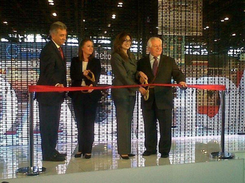 Inauguración de World Routes 2014 en Chicago.
