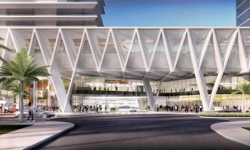 Proyecto de estación en Miami: Foto: El Nuevo Herald.