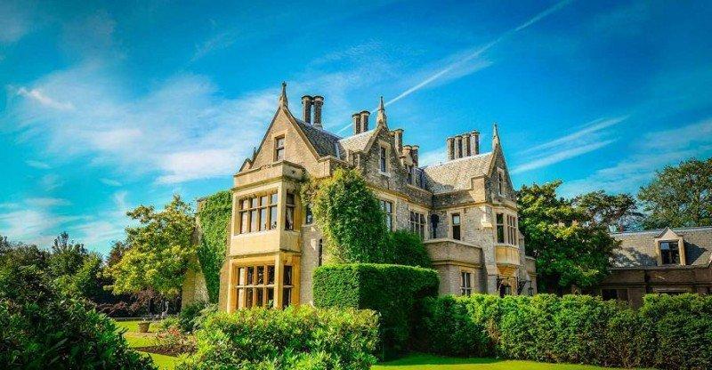 Foxhill Manor, en los Cotswolds, también se ha incorporado a la nueva insignia.