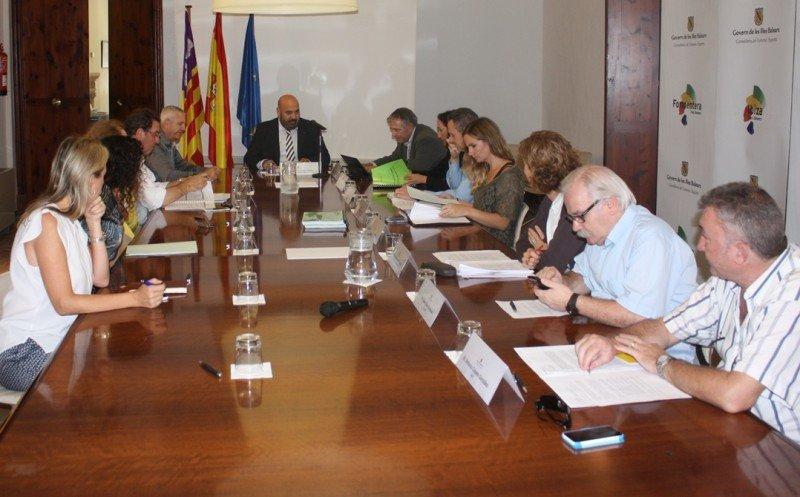 Reunión de la Junta Rectora del consorcio.