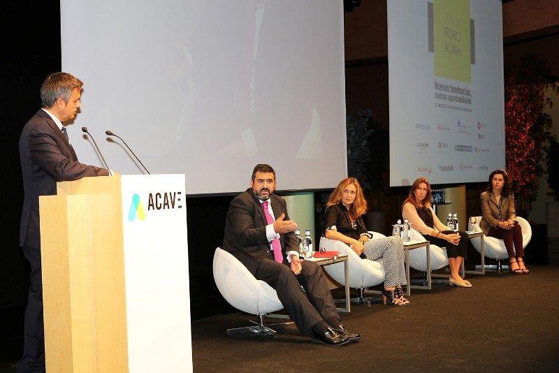 Un momento del Foro Acave que tuvo lugar el pasado 1 de octubre en Barcelona.
