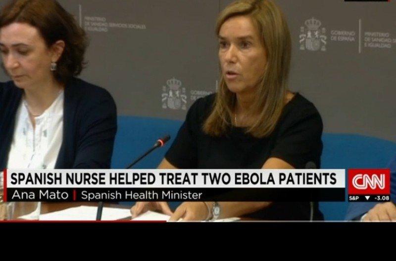 Video de la CNN, donde se informa del primer caso de ébola que se ha contagiado fuera de África.