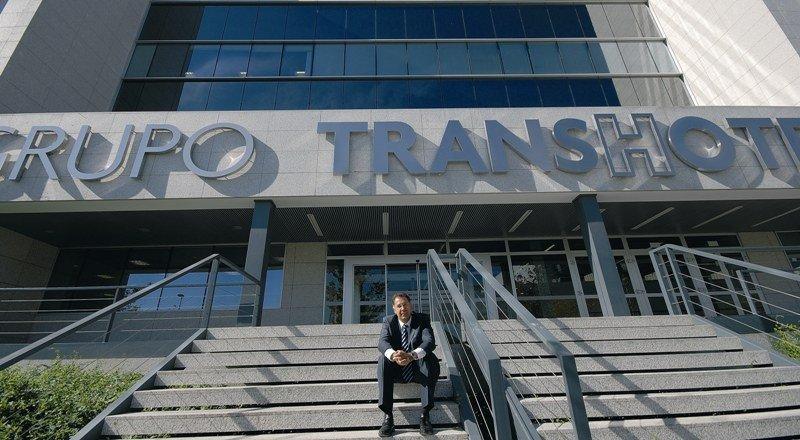 Anselmo de la Cruz, presidente y fundador de Transhotel.