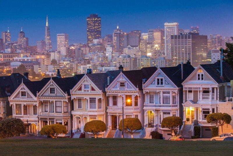 En San Francisco hay 5.000 alojamientos incluidos en Airbnb, de los que dos tercios son casas o edificios de apartamentos enteros. #shu#