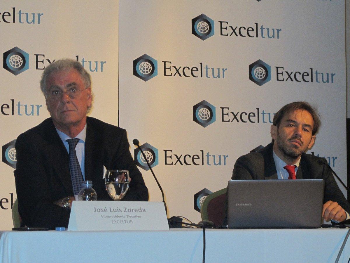 Exceltur presentó ayer un informe trimestral número 50.