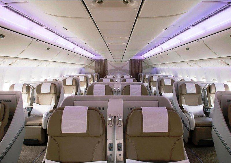 Saudia aumenta su oferta Business y Primera clase entre España y Arabia Saudita