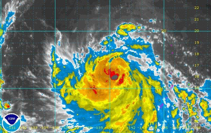 El tifón Vongfong causa destrozos en Japón