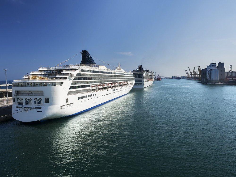 Barcelona, el puerto líder, mantiene un descenso en lo que va de año. #shu#.