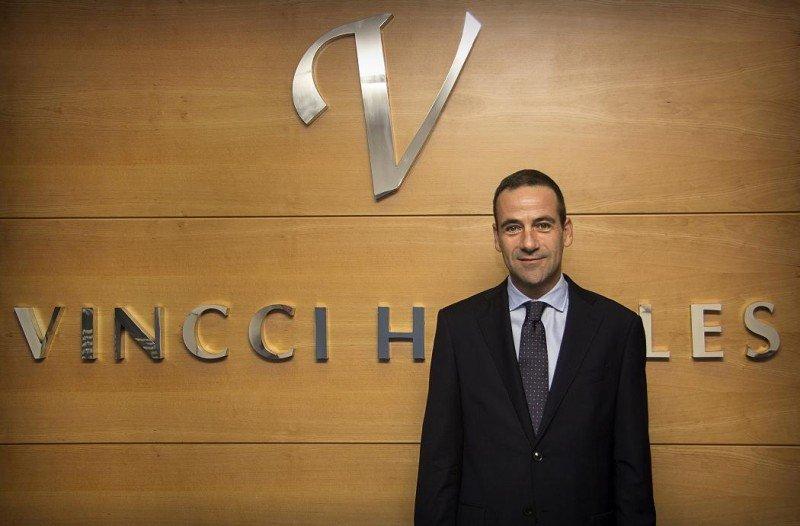 Pedro Marín Martínez es el nuevo director comercial de Vincci Hoteles.