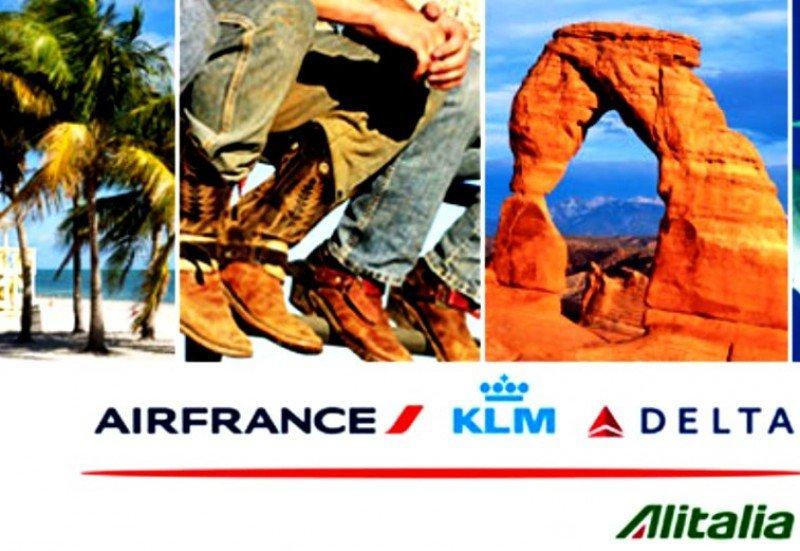 Air France KLM, Delta y Alitalia ofrecen slots y plazas para salvar su negocio transatlántico