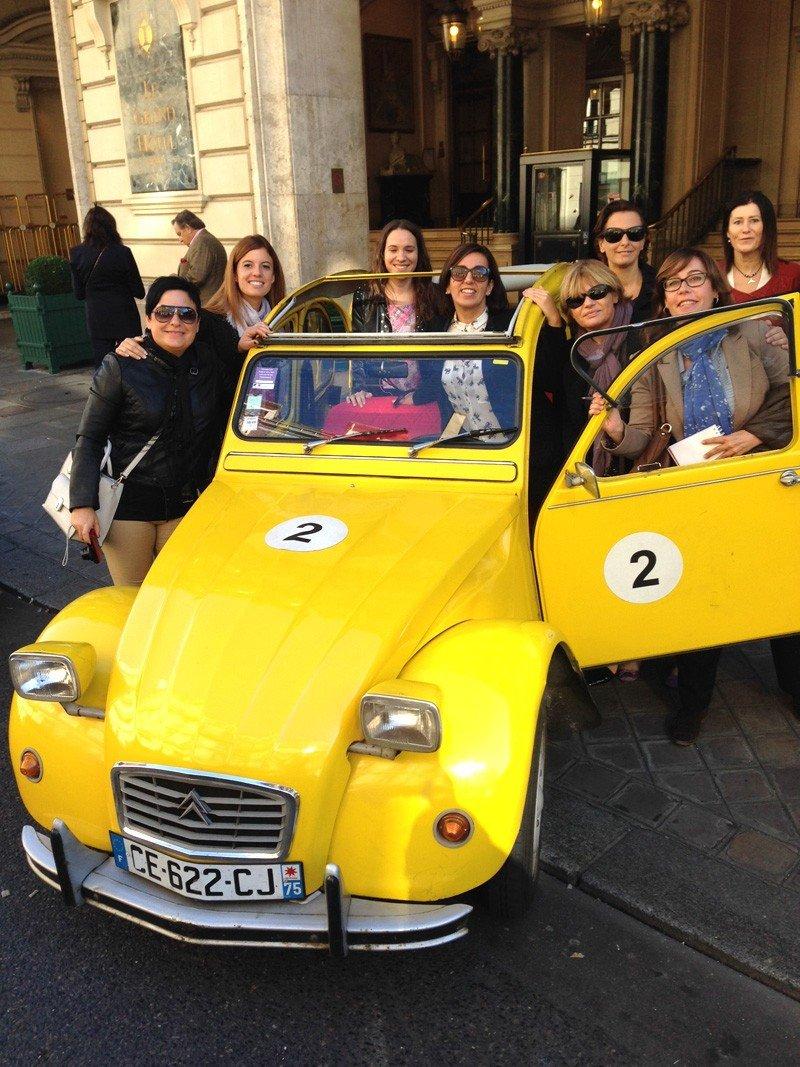 Travelcube organiza un fam trip para agentes de viajes en París