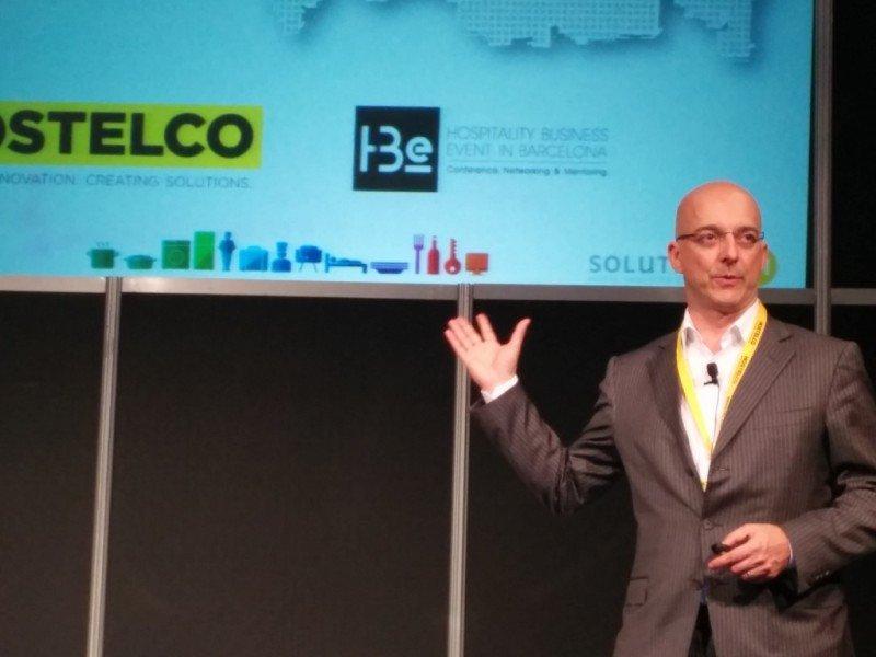 Lars von der Wettern ofreció una conferencia sobre tendencias en el mercado ruso en el salón Hostelco de Barcelona.