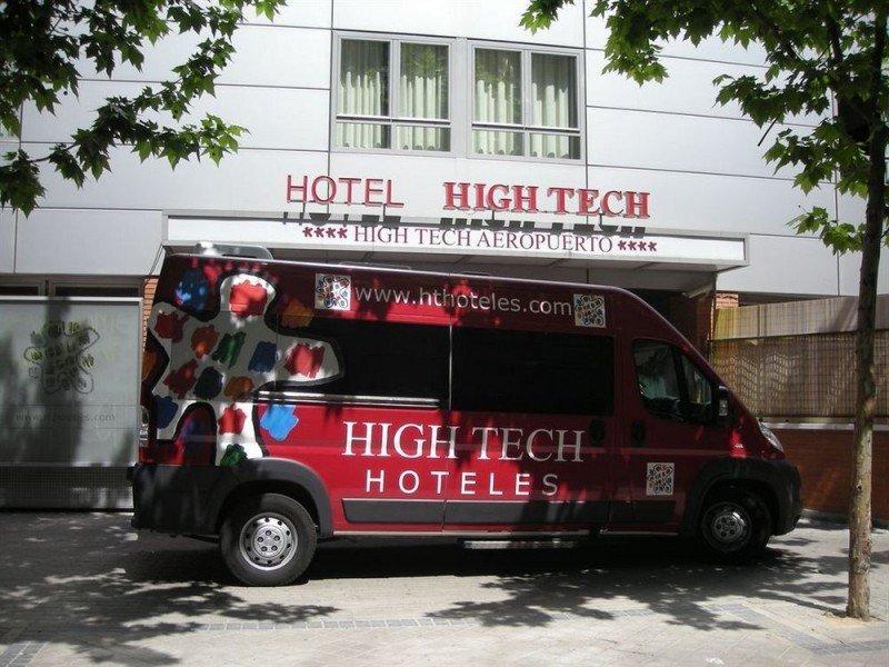 El High Tech Madrid Aeropuerto es uno de los 32 hoteles de la cadena, que llegó a ser la de mayor presencia en la capital con una única marca.