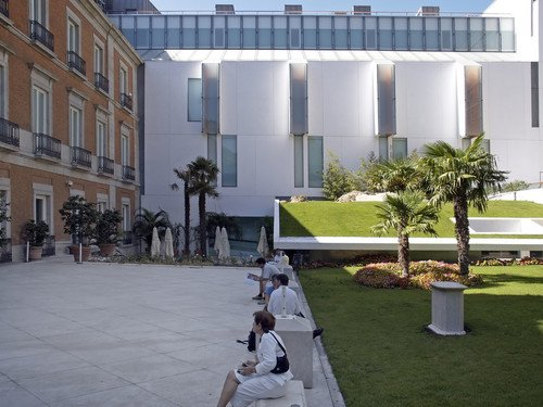 El Museo Thyssen-Bornemisza, en Madrid. #shu#
