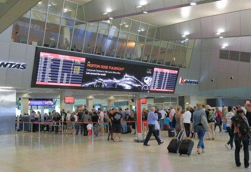 Aeropuerto de Melbourne. #shu#