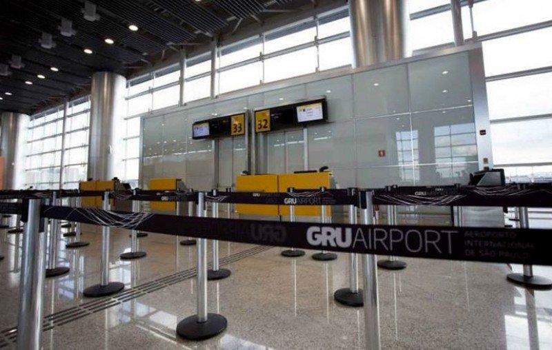 Terminal 3 Aeropuerto Internacional de Guaruhlos.