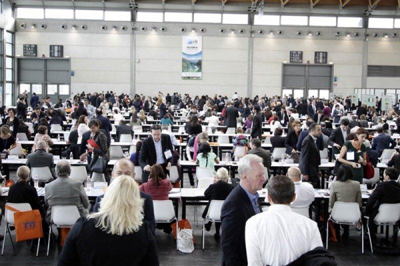 Más de 13.000 reuniones de negocios se realizaron en Rimini en la edición 2013.