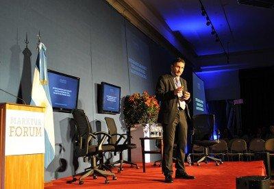 Damián Habib en el Marktur Forum 2013.