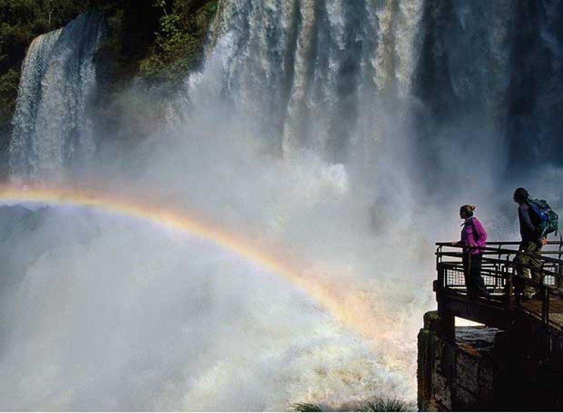 Cataratas del Iguazú.