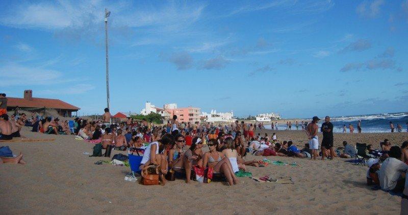 Playa La Balconada, en La Paloma.