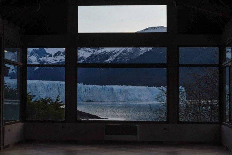 Vista desde el nuevo restaurante.