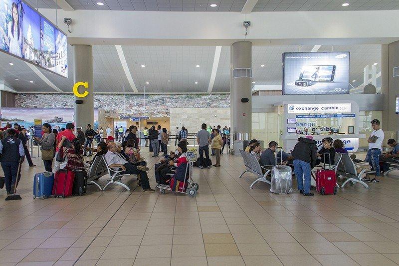 El 83% de las salidas desde Ecuador se producen por el Aeropuerto Internacional Mariscal Sucre de Quito.