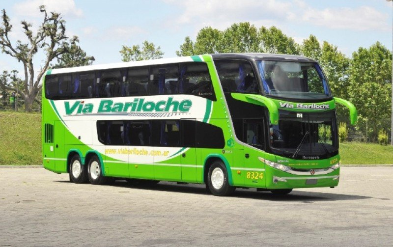 Vía Bariloche opera a varios destinos de Argentina.