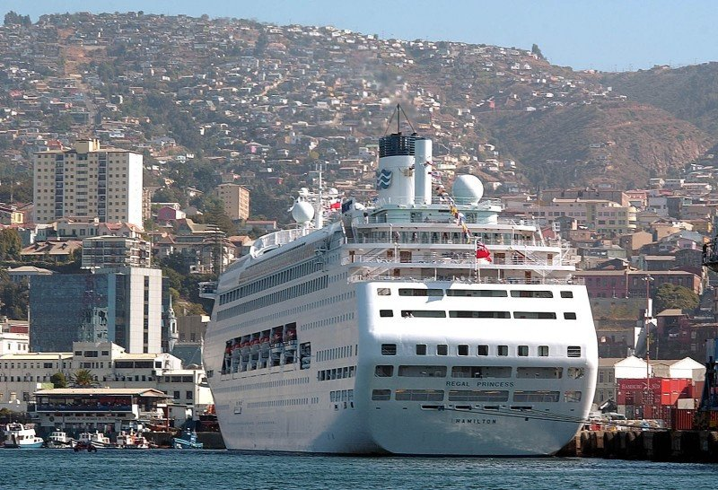 Puerto de Valparaíso.