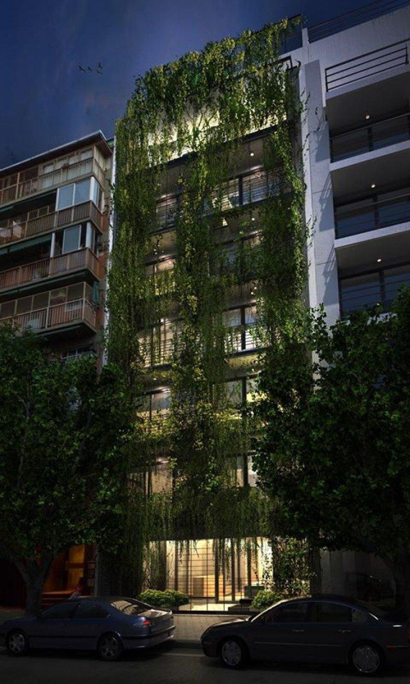 Palo Santo tiene dos jardines verticales con 800 plantas.
