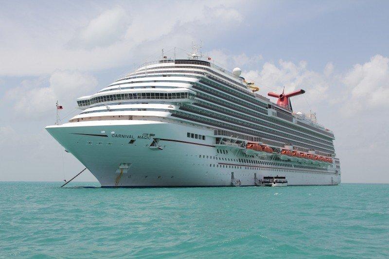 El Carnival Magic puso proa de regreso a Galveston, Texas, tras ser rechazado en Belice y Cozumel.