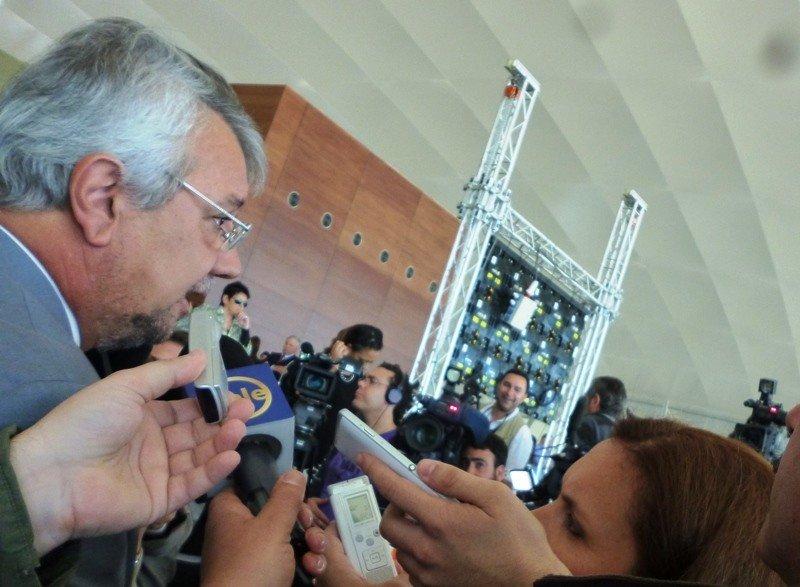Ministro Pintado en la presentación de Alas Uruguay.